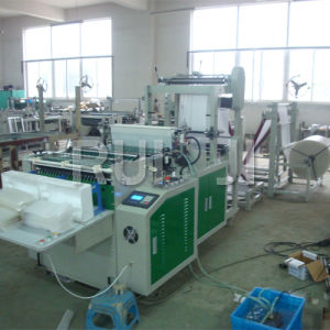 Automatic Two Lines EPE Foam Bag Making Machinery pictures & photos
