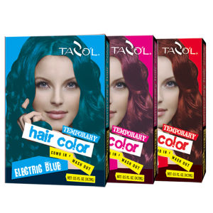 China 7g*2 House Use Temporary Hair Color with Brown Red Hair Gel ...