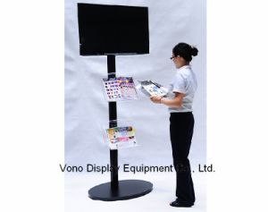 China Lcd Stand Display Racks Trade Show Products 17 To 65 Screen