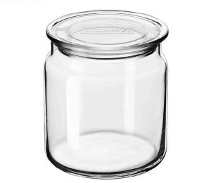 Classical Glass Jar with Lid pictures & photos