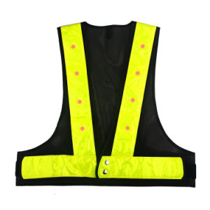 Waterproof Hi Vis LED Safety Vest pictures & photos