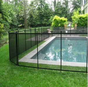 China Vinyl Removable Retractable Fence for Swimming Pool ...