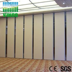 China Free Standing High Density MDF Screen Room Divider Partition