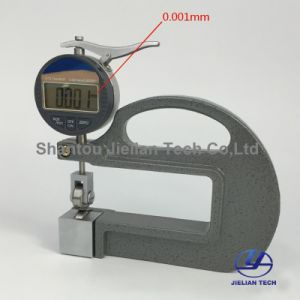 Bc03e Digital Leather Thickness Gauge 0-12.7mm Rubber Thickness Gauge