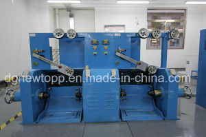 Automatic Feedback Skin-Foam-Skin Physical Foaming Cable Extrusion Machine pictures & photos