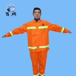 Fluorescence Orange Tc Raincoat for Adult pictures & photos