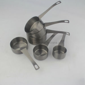 6 PCS Stainless Steel Measuring Cup Measuring Tools Kitchen Utensils