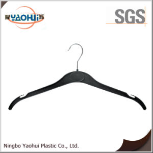 Laundry Plastic Hanger with Metal Hook for Clothes (42cm) pictures & photos