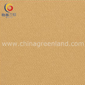 Cotton Twill Elastic Fabric with Peached Skin for Clothing (GLLMMSK002) pictures & photos