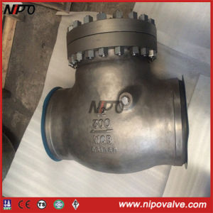 Bolt Bonnet Cast Steel Butt Welded Swing Check Valve pictures & photos