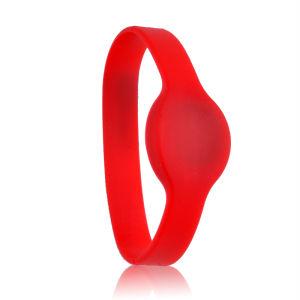 Programmable NFC Silicone Bracelet, RFID Wristband Adjustable S50 1K /  Ntag213 / F08