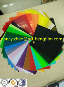 0.04mm-0.65mm Thickness of The Printed PVC Sheet with Top Quality