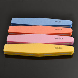 High Quality Diamond Sponge Material Nail File pictures & photos