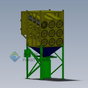 Downflow Dust Collector for Sand Blasting Room pictures & photos