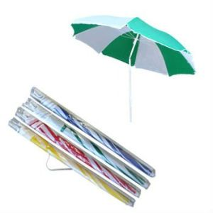 Beach Umbrella with Transparent Carry Bag (BR-BU-119) pictures & photos