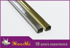 Haoshi Manufacturer Direct Stainless Steel Edge Profile Trim (HSSS-02)
