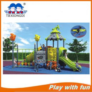 Commercial Outdoor Plastic Playground Equipment for Kids Play pictures & photos