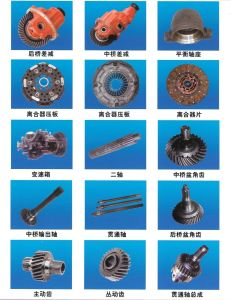 Professional Supply Original Sinotruck HOWO Truck All Parts/Engine, Chassis, Body pictures & photos