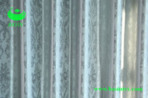 Blackout Embossed Curtain Fabric (BS3201) pictures & photos