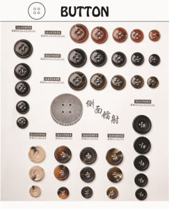 Overcoat Button for for Clothing/Garment/Shoes/Bag/Case (Size:   12L to 64L) pictures & photos