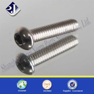 ISO7380 Hex Socket Button Head Screws pictures & photos