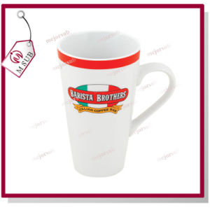 17oz Coated Latte Sublimation Mugs by Mejorsub pictures & photos