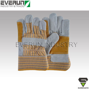Cow Leather Gloves Gardening Gloves Work Gloves pictures & photos
