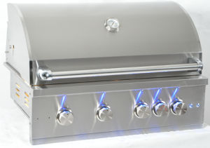 Outdoor 304 Stainless Steel Built-in Gas Barbecue Grill pictures & photos
