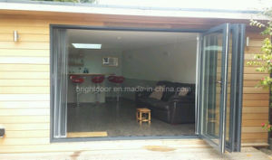 Aluminium Soundproof Outdoor Folding Door Prices Glass pictures & photos