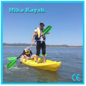 3 Seat Ocean Kayak Plastic Canoe Fishing Boat for Sale pictures & photos