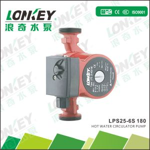 Dn25mm High Efficiency 3-Speed Heating Circulation Pump pictures & photos
