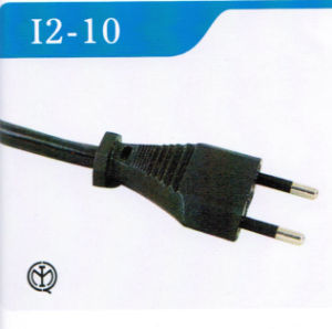 2-Pin Italy Standard Power Cord with Imq Approval (I2-10) pictures & photos