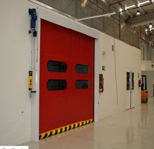 2017 EU Standard Ce Proved Plastic PVC High Speed Rolling Door with Servo Motor System & China 2017 EU Standard Ce Proved Plastic PVC High Speed Rolling Door ...