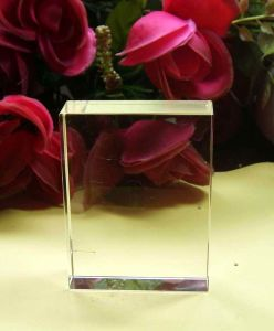 Customized Crystal Glass Block pictures & photos