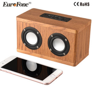 Mini Wooden Wireless Bluetooth Speaker pictures & photos