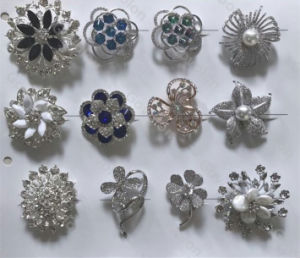 2018 Newest Crystal Rhinestone Button for Jeans pictures & photos
