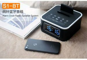 aa66bea36f4 China Iristime Digital LED Alarm Clock with Bluetooth Speaker and  Temperature Reading - China Clock Radio