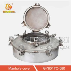 Factory Wholesale Stainless Steel Manhole Cover for Tanker Truck