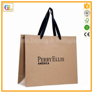 Custom Logo Printing Kraft Paper Bag (OEM-GL-002) pictures & photos
