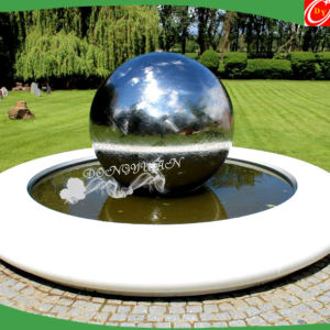 Fabrication Garden Decorative Stainless Steel Ball/ Steel Hemisphere For  Water Feature