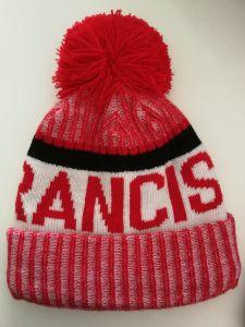 8bccb3ce7554b Football Team USA Francisco Beanies Cap Warm Winter Hat Knitted Cap Hip Hop  Men Women Lovers