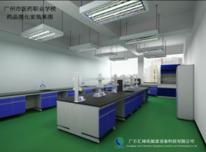 Epoxy Resin Lab Furniture Supplier Lab Bench (HL-14) pictures & photos