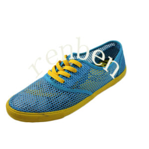 New Hot Sale Design Men′s Canvas Casual Shoes pictures & photos