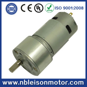 50mm Powerful High Torque 12 Volt Low Rpm Gear Motor pictures & photos