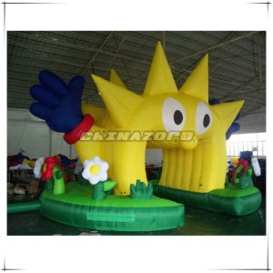 Creative Happy Clown Inflatable Archway for Advertising