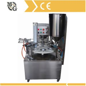Rotary Filling and Sealing Machine pictures & photos