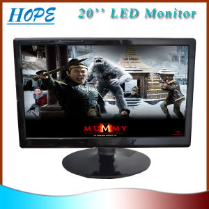 Good Quality New! ! Wide Screen 20 Inch LED Computer Monitors with VGA DVI pictures & photos