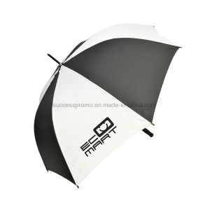 "Promotional Printed 30"" Automatic Golf Umbrella with 8 Panels pictures & photos"