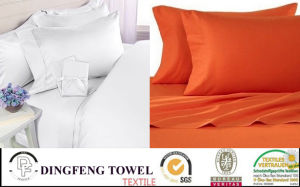 100% Cotton, Polycotton or Microfiber Cotton Material Home Bedding Set, Verious Size Twin Full Queen King pictures & photos