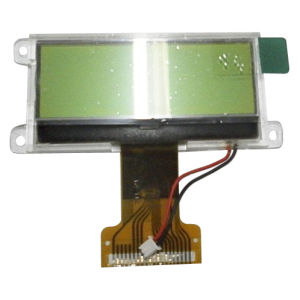 Stn Yellow-Green Transflective 128 X 32 Dots LCD Display Module with Green Backlight, RoHS Approved (VTM88962A01)
